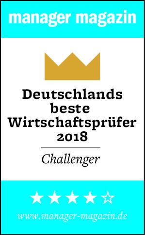 """""""Deutschlands beste Wirtschaftsprüfer 2018"""""""